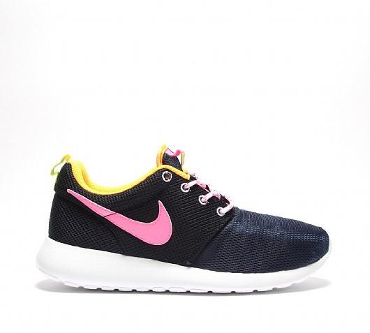 best sneakers 6c218 713d0 ... femme fleur nike roshe run hyperfuse roshe run rose et bleu